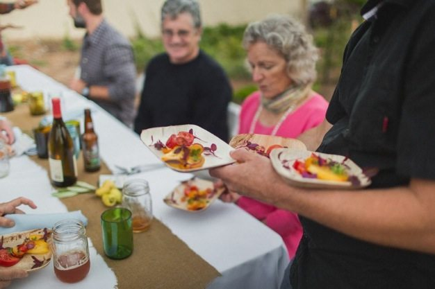San-Diego-open-air-bistro-all-organic-catering-eco-caters-Herb-En-Routes-urban-farm-pop-up-dinner-Leylla-Badeanlou-my-local-habitat-fresh-garden-menu-local-13 catering san diego wedding catering