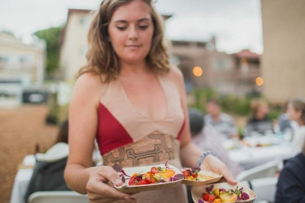 San-Diego-open-air-bistro-all-organic-catering-eco-caters-Herb-En-Routes-urban-farm-pop-up-dinner-Leylla-Badeanlou-my-local-habitat-fresh-garden-menu-local-14 catering san diego wedding catering