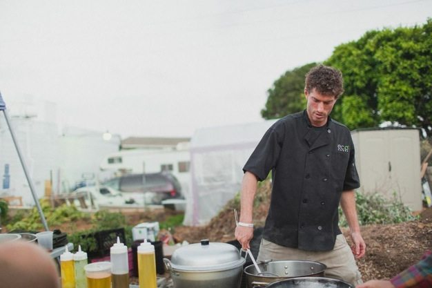 San-Diego-open-air-bistro-all-organic-catering-eco-caters-Herb-En-Routes-urban-farm-pop-up-dinner-Leylla-Badeanlou-my-local-habitat-fresh-garden-menu-local-21 catering san diego wedding catering
