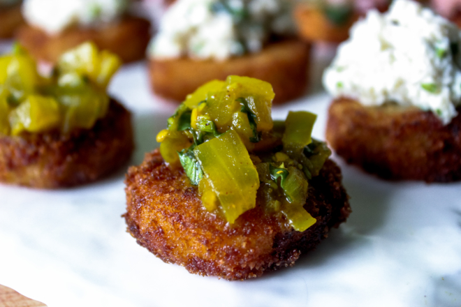 Fried-Green-Tomato-Rashidah-Denton-1-thegem-gallery-masonry catering san diego wedding catering
